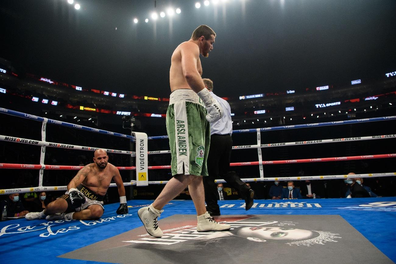 Arslanbek Makhmudov, Erkan Teper - Boxing News