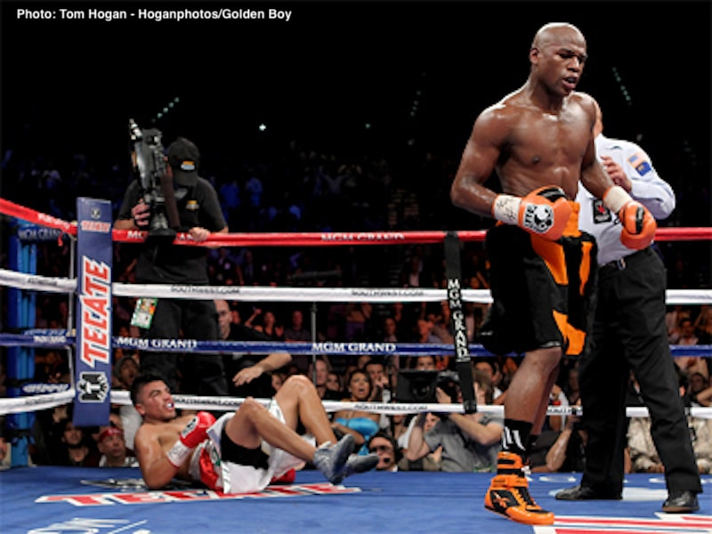 Floyd Mayweather Jr, Victor Ortiz - Boxing News