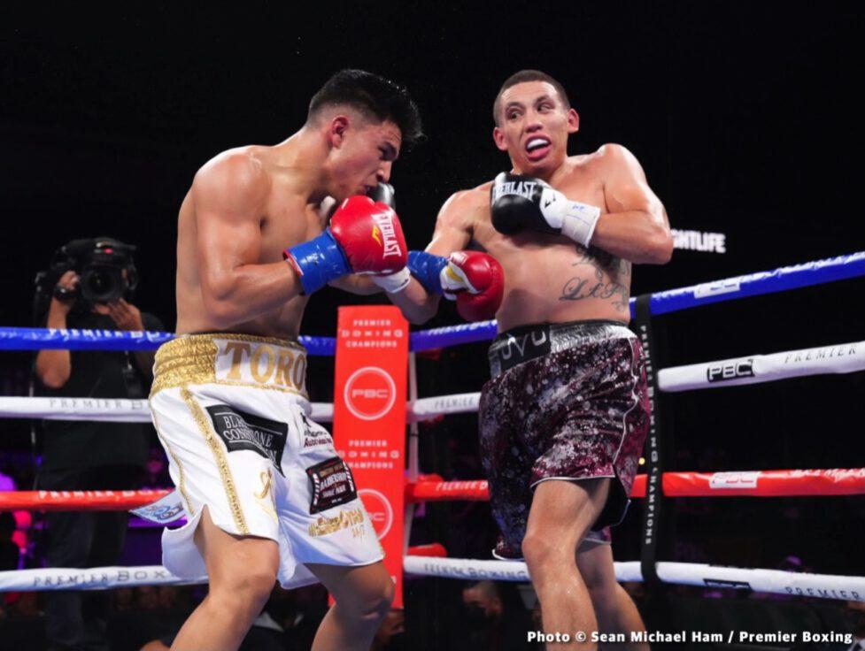 Brian Mendoza, Jesus Ramos Jr. - Boxing Results
