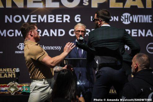 Caleb Plant, Canelo Alvarez - Boxing News