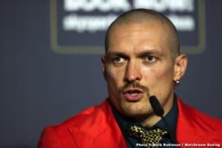 Oleksandr Usyk already eyeing Tyson Fury for undisputed fight