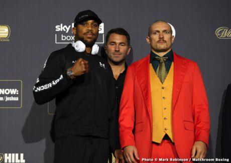 Alexander Usyk, Anthony Joshua, Callum Smith, Lawrence Okolie - Boxing News