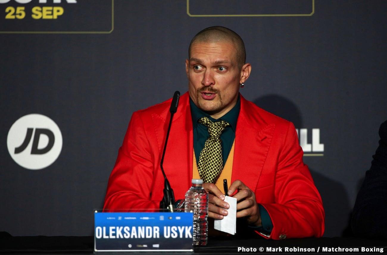 Alexander Usyk, Anthony Joshua, Vasiliy Lomachenko - Boxing News