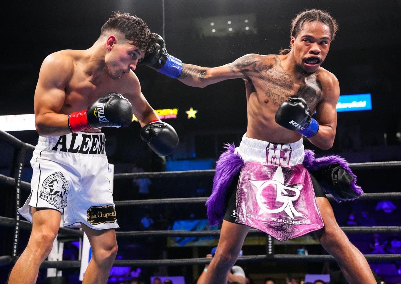Angel Barrientes, Maliek Montgomery, Omar Juarez - Boxing Results