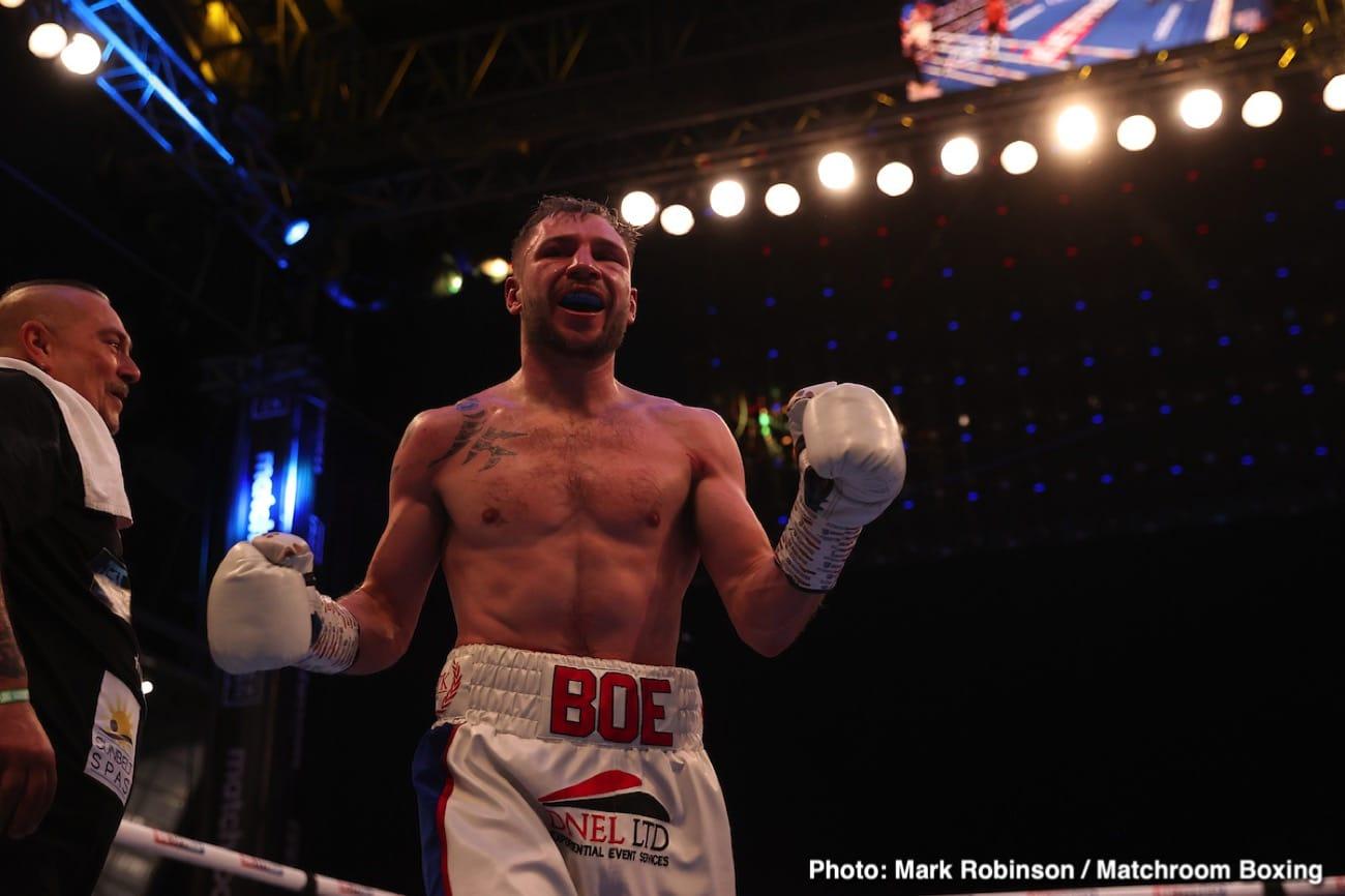 Maxi Hughes - British Boxing
