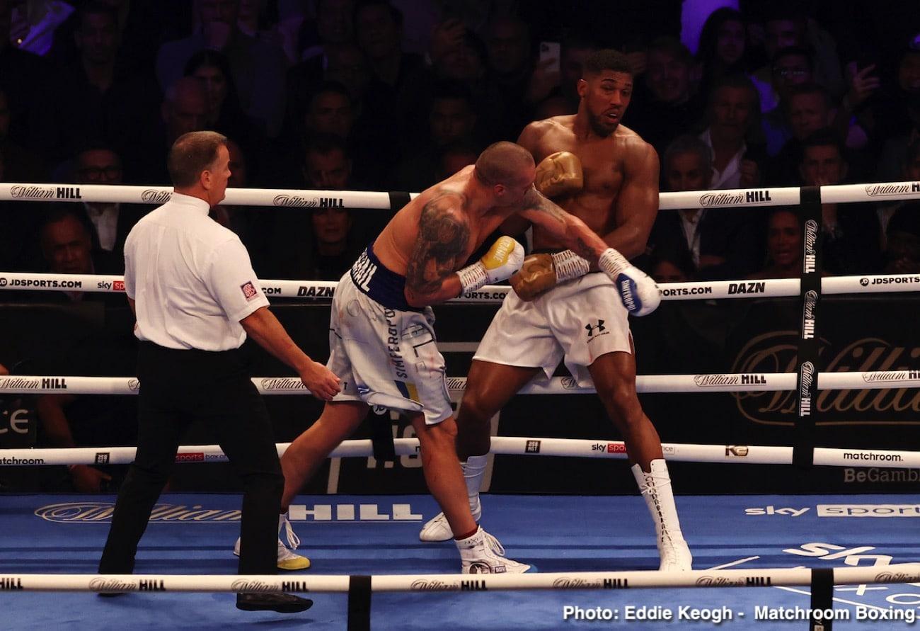 Alexander Usyk, Anthony Joshua, Lennox Lewis - Boxing News