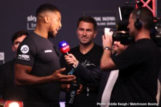 Ronnie Shields confirms Anthony Joshua looking for new trainer