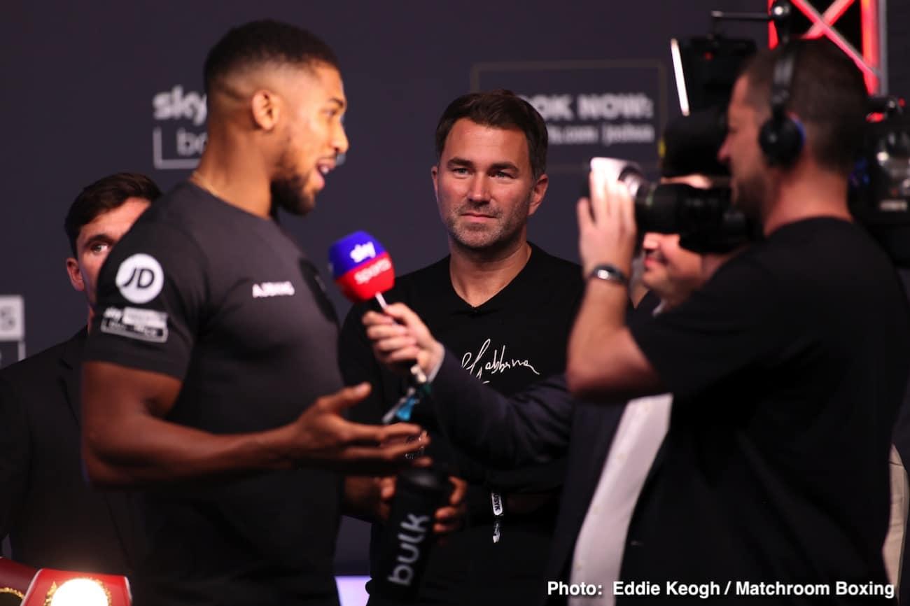 Alexander Usyk, Anthony Joshua, Ronnie Shields - Boxing News