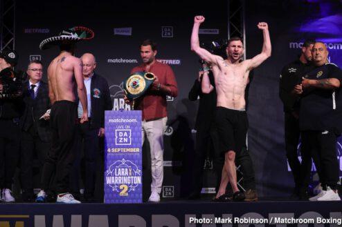 Conor Benn, Josh Warrington, Katie Taylor, Mauricio Lara - Boxing News