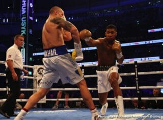 Joshua believes he'll beat Usyk in rematch