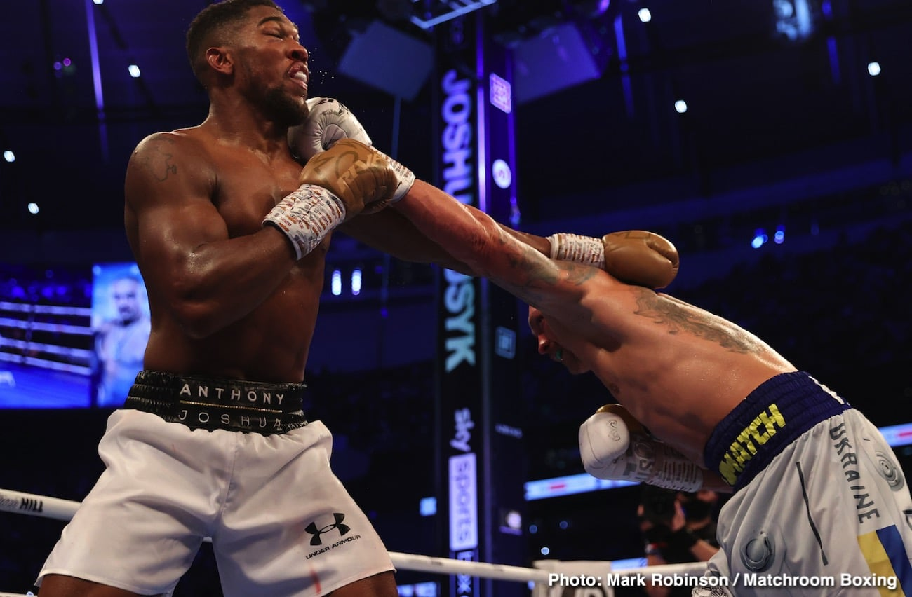 Alexander Usyk, Tyson Fury - Boxing News