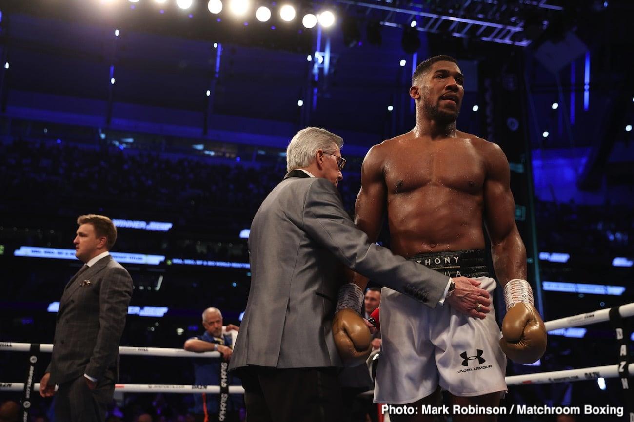 Anthony Joshua - Boxing News