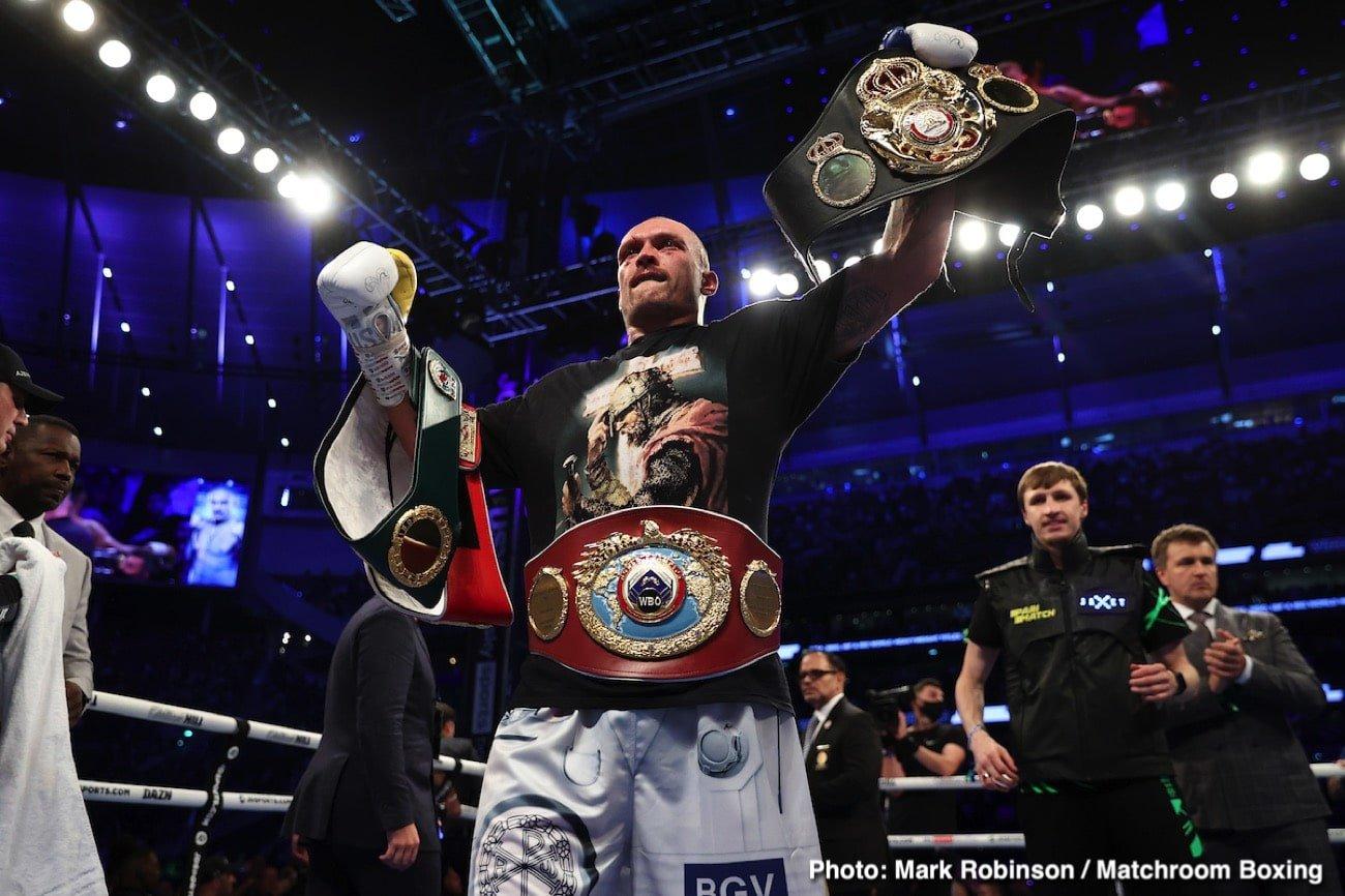 Alexander Usyk - Boxing News