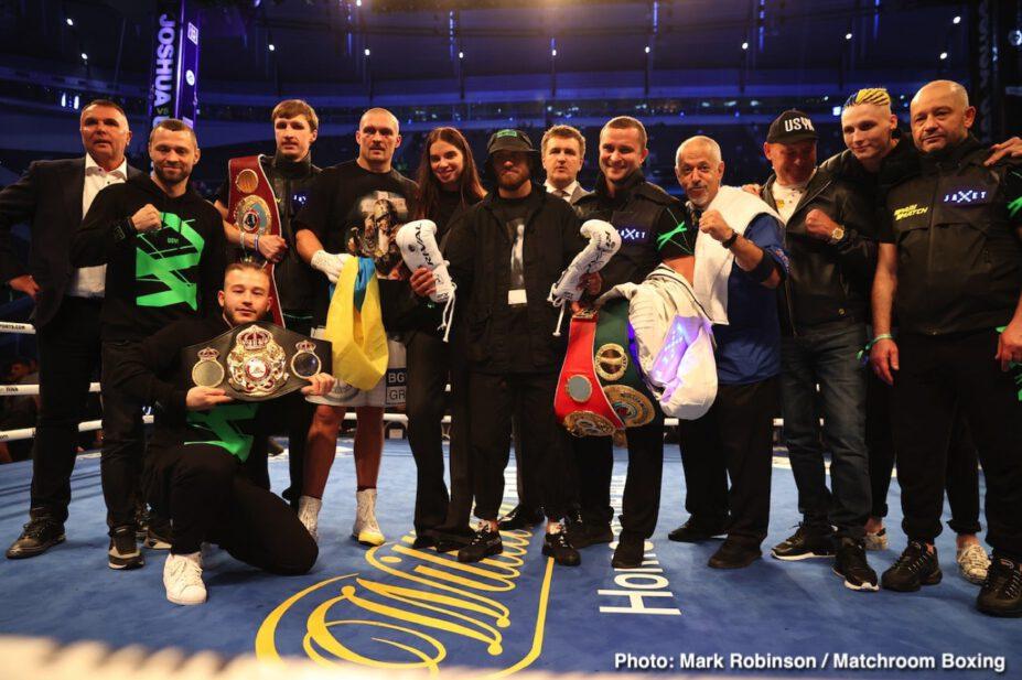 Alexander Usyk, Anthony Joshua - Boxing News