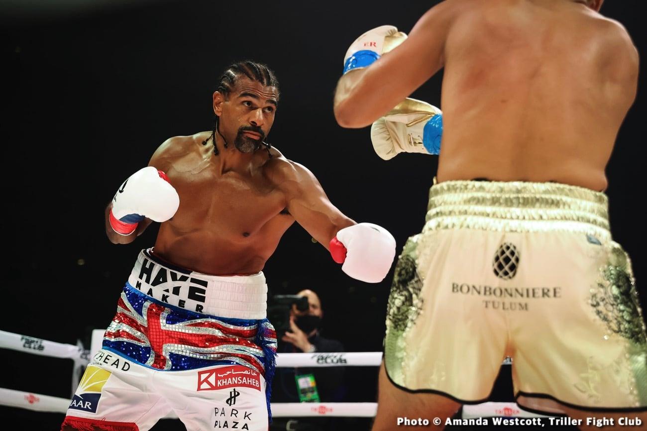 David Haye - Boxing News