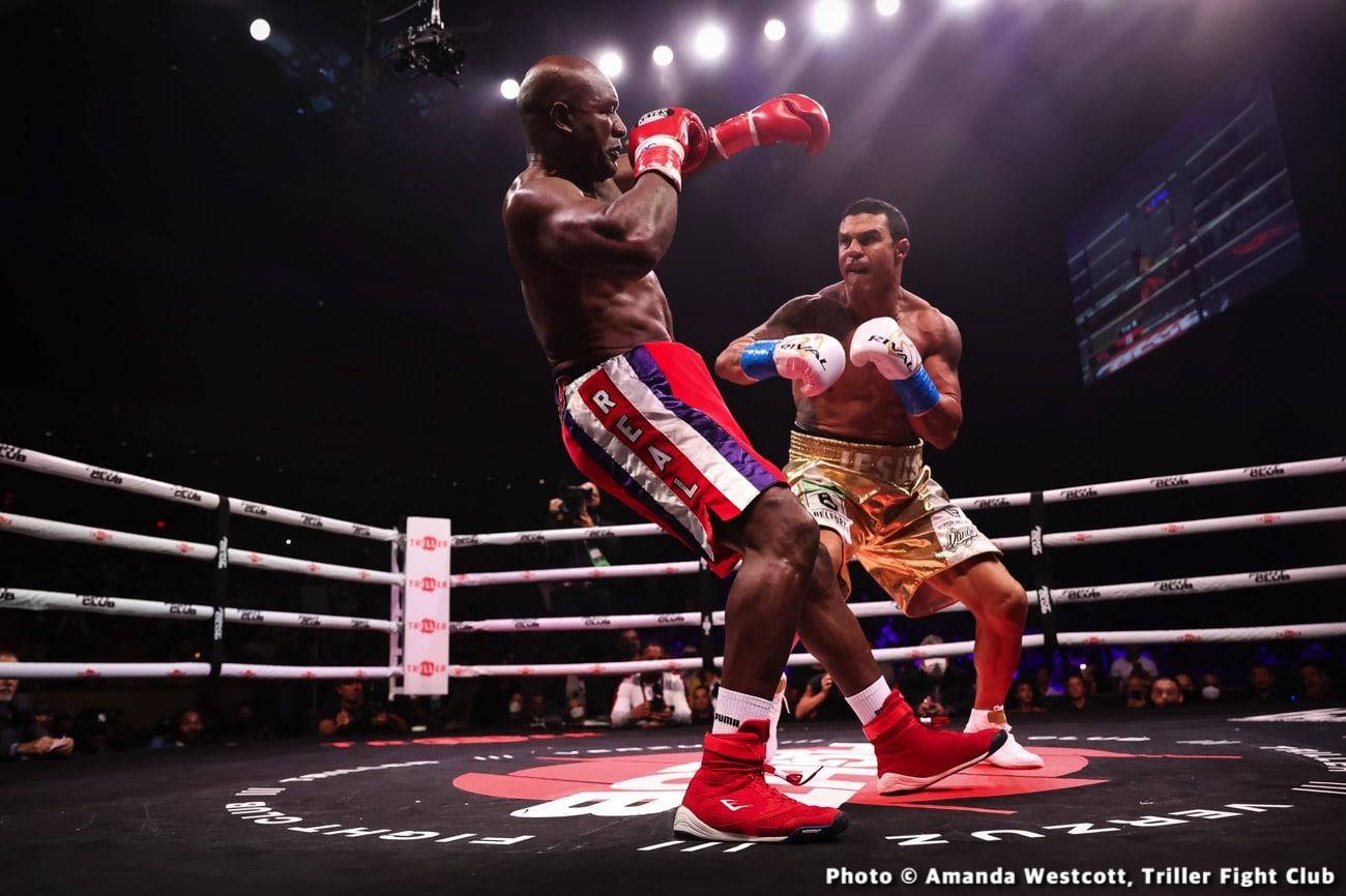 Anderson Silva, David Haye, Evander Holyfield, Joe Fournier, Tito Ortiz, Vitor Belfort - Boxing News