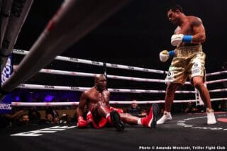 Belfort destroys  Holyfield in 1st round TKO – Boxing Results