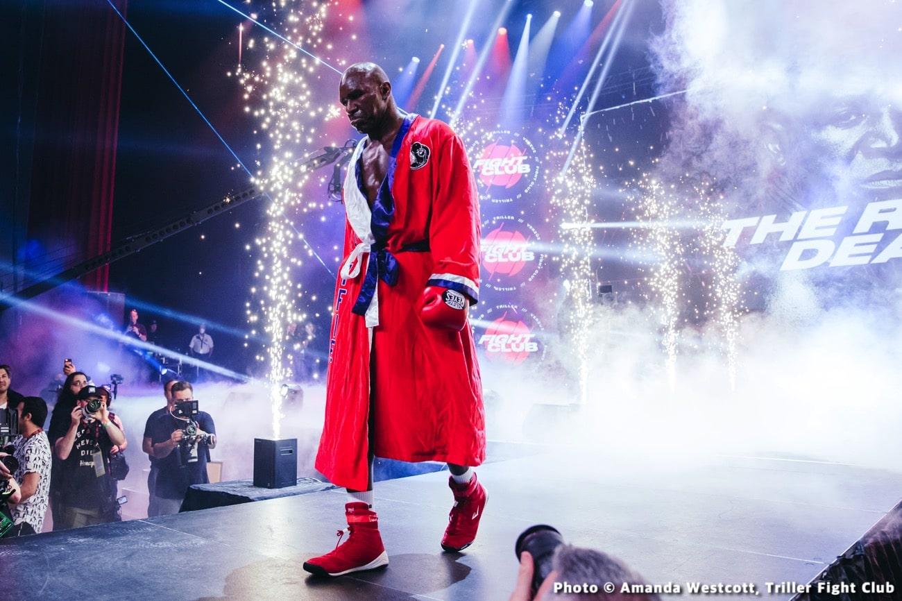 Evander Holyfield, Vitor Belfort - Boxing News