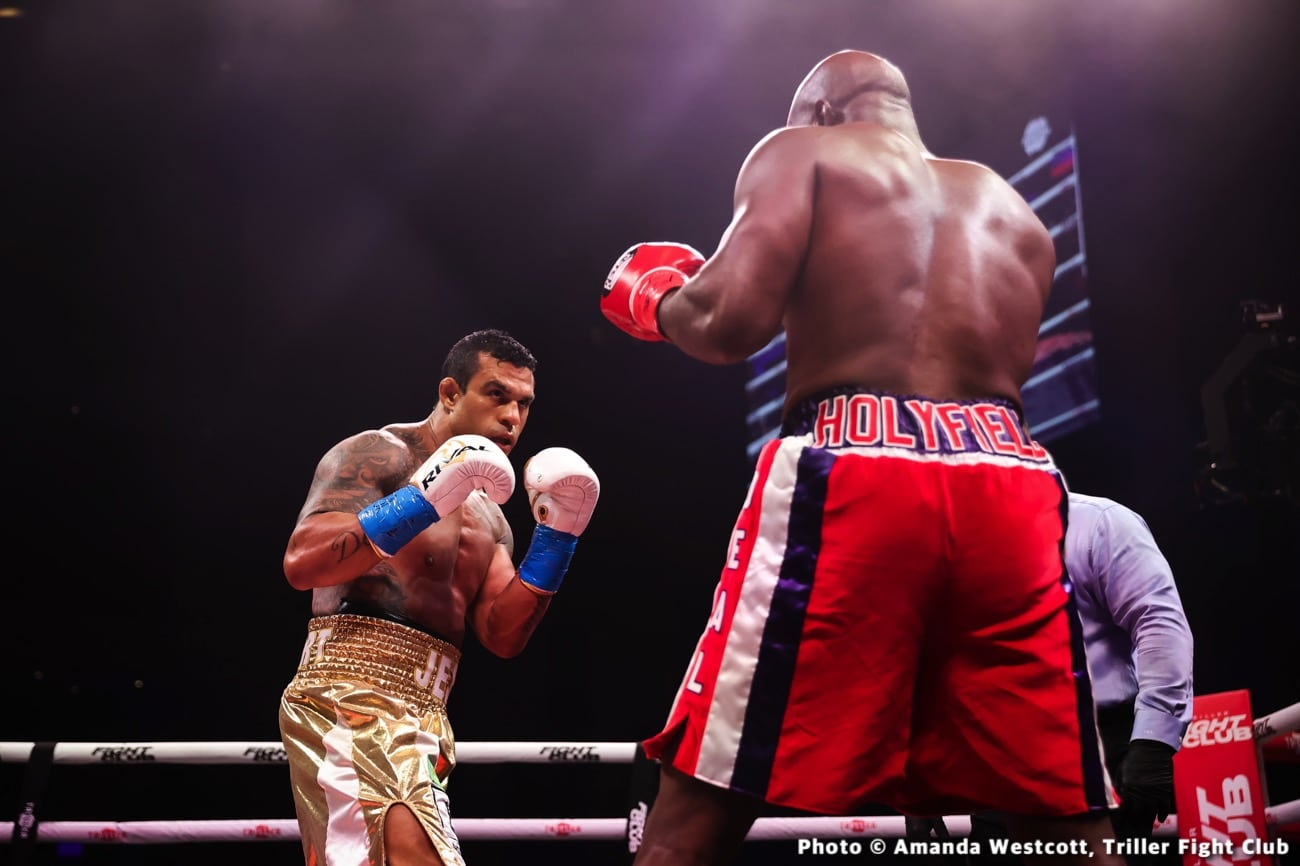 Evander Holyfield, Jake Paul, Vitor Belfort - Boxing News