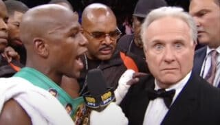 Ten Years Ago: Floyd Mayweather KO's Victor Ortiz With The Ultimate Sucker-Punch, But Larry Merchant Steals The Show
