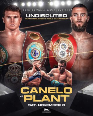Canelo tells Andre Ward: 'You can get it in the ring too' after Caleb Plant