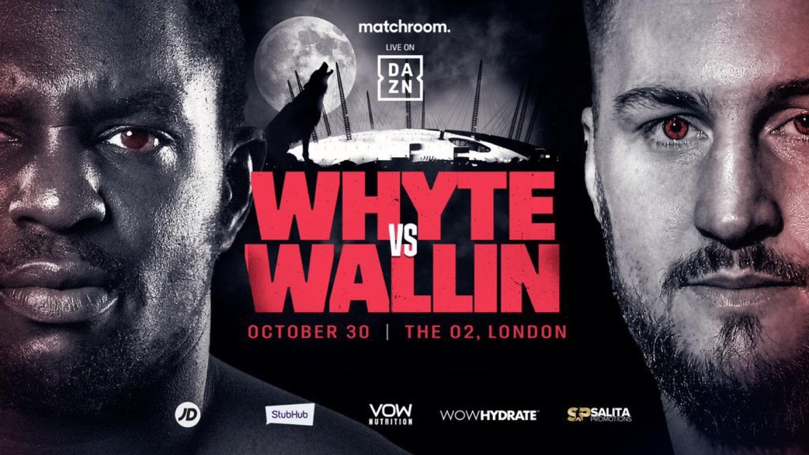 Dillian Whyte, Otto Wallin, Tyson Fury - Boxing News