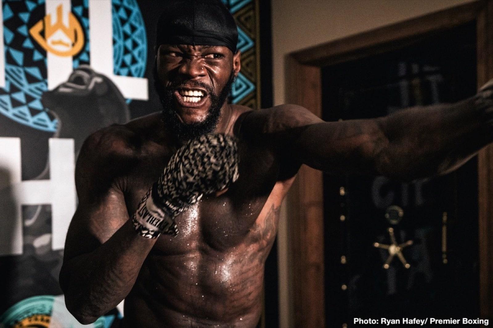 Deontay Wilder, Malik Scott - Boxing News