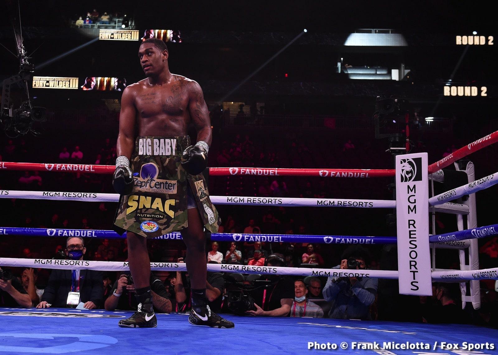 Jared Anderson, Vladimir Tereshkin - Boxing Results