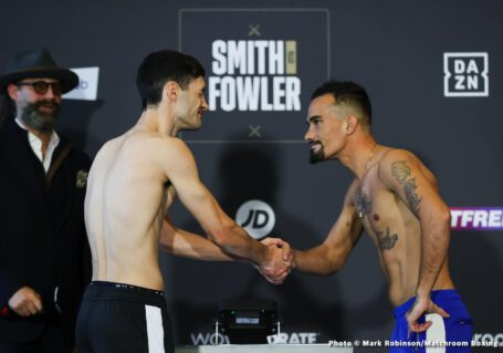 Anthony Fowler, Liam Smith, Shannon Courtenay, Ted Cheeseman - British Boxing