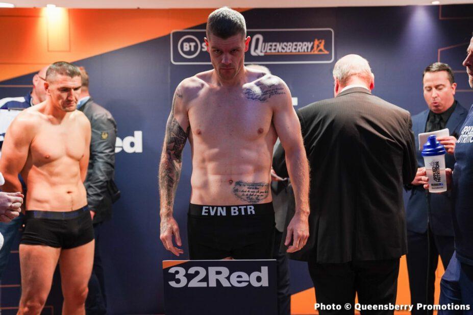 Brad Foster, Jason Cunningham - British Boxing