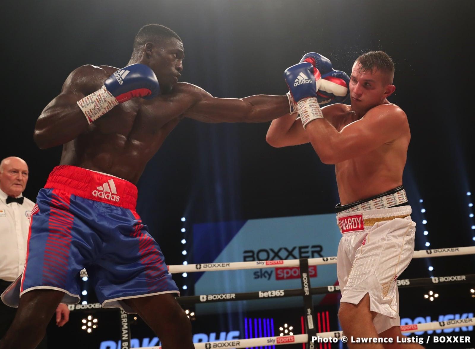 Krzysztof Twardowski, Richard Riakporhe - Boxing News