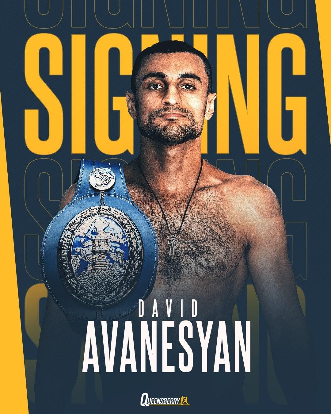 David Avanesyan - Press Room