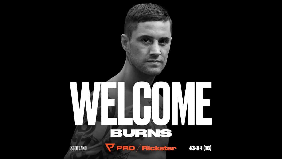 Ricky Burns - Press Room