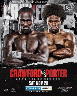 This Year's Next Super-Fight? Crawford Vs. Porter Expected To Deliver