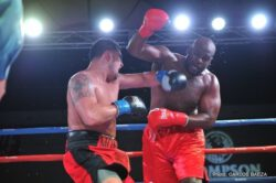 Artemio Reyes - ORANGE, Calif. (Nov. 24, 2013) - Thompson Boxing Promotions concluded its year with seven sensational fights that thrilled and entertained the capacity crowd at the Doubletree Hotel in Ontario, Calif.