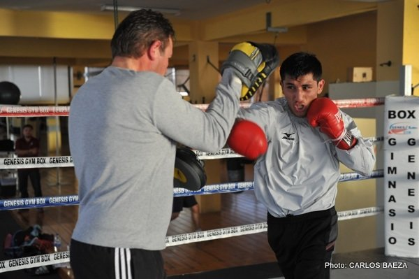 Juan Carlos Burgos Training Camp Quotes