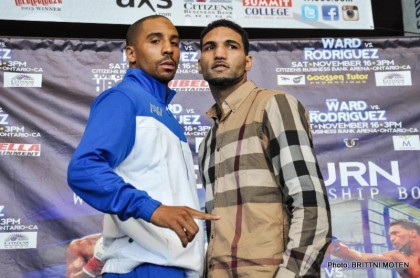 Andre Ward Edwin Rodriguez Ward vs. Rodriguez Boxing News