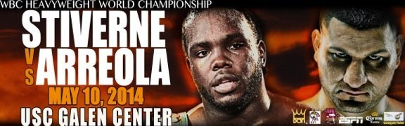 Stiverne vs. Arreola, May 10th, live on ESPN