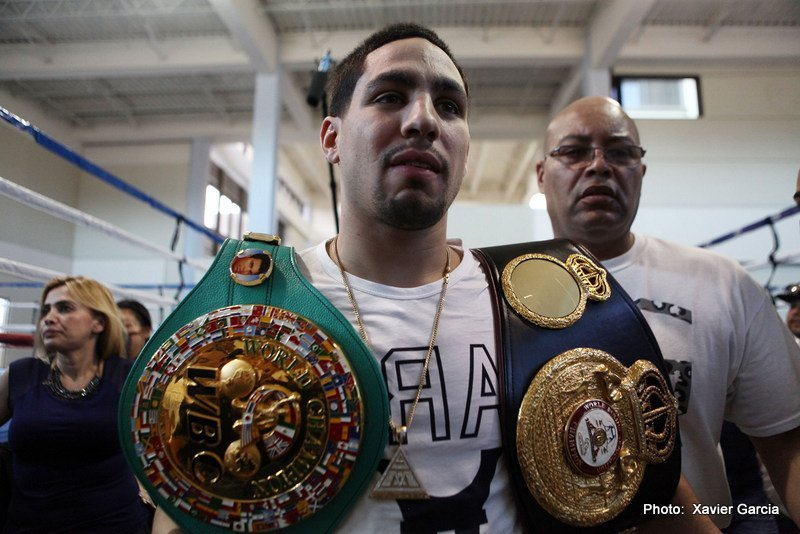 "Danny Garcia - Reigning WBC welterweight champ and two-weight king Danny Garcia has not had anything that could be called a stellar year here in 2016. The unbeaten 28-year-old has boxed just once, winning a competitive 12-round decision over Robert Guerrero in January, and is set to face Samuel Vargas in an anticipated mismatch next month. Compared to previous years, when ""Swift"" took on and defeated quality fighters such as Amir Khan, Zab Judah and Lucas Matthysse, this year has been one big disappointment."