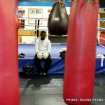 Photos: Jose Gonzalez training for Ricky Burns