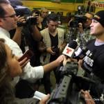 Brian Vera Chavez Jr. vs. Vera Julio Cesar Chavez Jr. Press Room