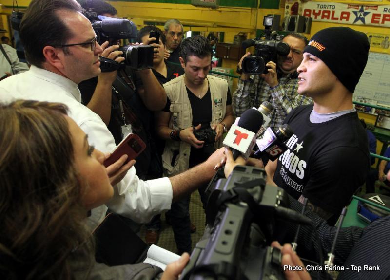 Brian Vera, Chavez Jr. vs. Vera, Julio Cesar Chavez Jr. - Press Room