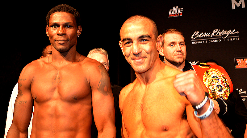 Soliman and Taylor Make Weight for Battle in Mississippi on Wednesday Night