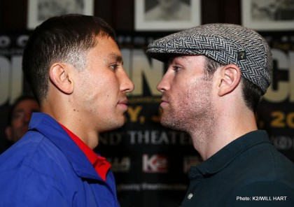 Gennady Golovkin Golovkin vs. Macklin Matthew Macklin Boxing News British Boxing Top Stories Boxing