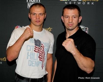 Adamek vs. Glazkov Tomasz Adamek Vyacheslav Glazkov Boxing News