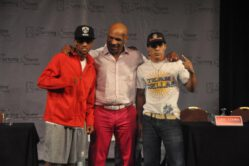 """Arash Usmanee, Argenis Mendez - VERONA, N.Y. (August 21, 2013) - The final press conference forIron Mike Productions' inaugural event this Friday evening - """"Tyson Is Back!"""" - was held today at Turning Stone Resort Casino in Verona, New York."""