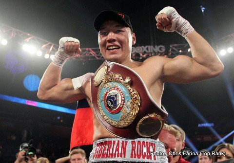 Ruslan Provodnikov…feared man at Junior Welterweight