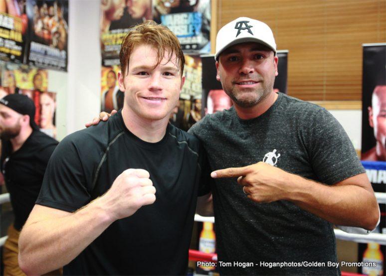 "Floyd Mayweather Jr Mayweather vs. Canelo Saul ""Canelo"" Alvarez Boxing Interviews Boxing News"