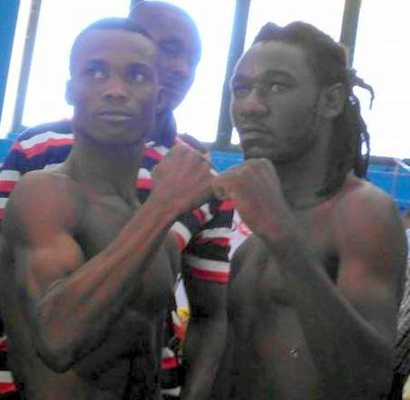 George Ashie - It's Ghana versus Tanzania in the boxing ring tonight at the Accra Sports Stadium when George Ashie and Allan Kamote clash for the WBO Africa Interim Lightweight championship over twelve rounds.