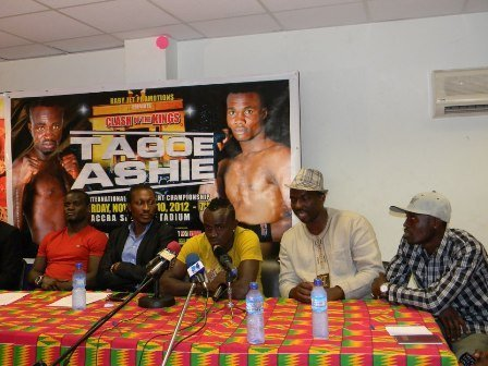Emmanuel Tagoe George Ashie Boxing News